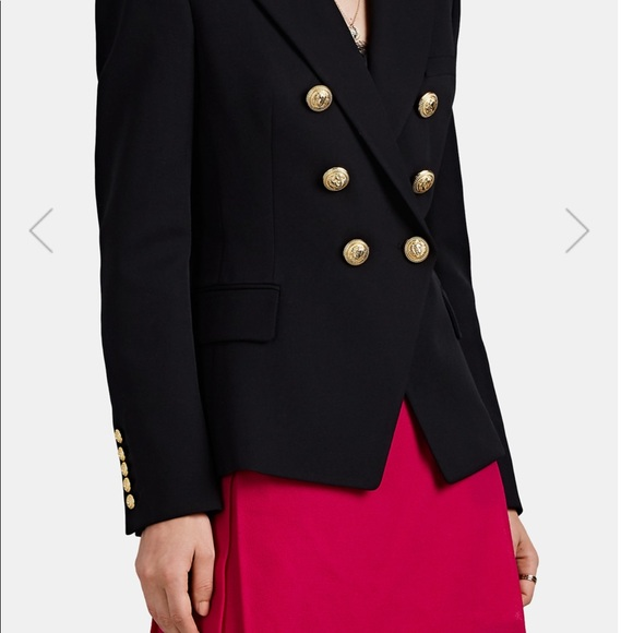 Balmain Jackets & Blazers - BALMAIN Wool Double-Breasted Blazer